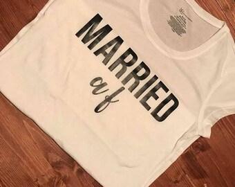 Married AF Bride Tee