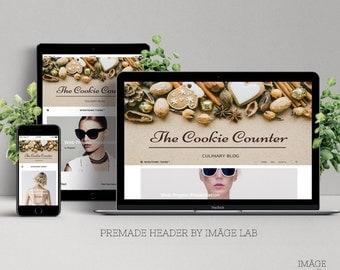 Premade Culinary blog header