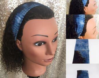 Blue Stretch Headband