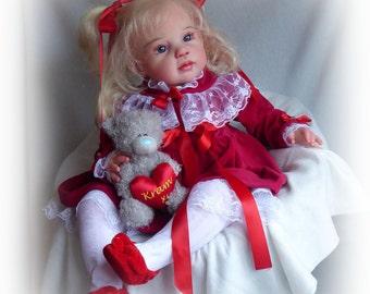 Reborn Toodler doll Lisabet