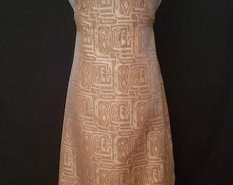 1960s maxi evening dress