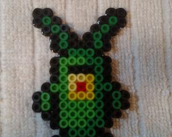 Plankton Perler Bead Sprite 3 Inch
