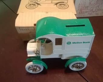 Mellon Bank 1905 Ford Delivery Car Bank