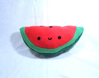 watermelon plushie