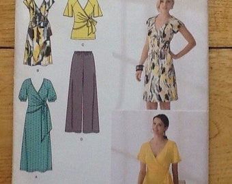 2369 Simplicity 'In K Designs' sewing pattern for ladies separates, pants, top and dress in 2 lengths.