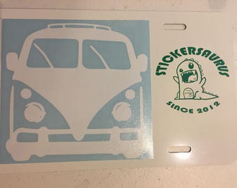 Volkswagen Bus Decal