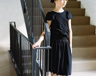 ruffle girl skirt ruffle skirt black