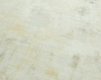 Basic Grey Grunge in Ivory Couture sold by the half meter