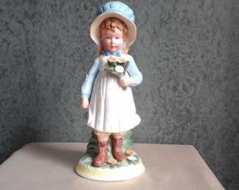 Vintage Hand Painted Holly Hobbie Figurine
