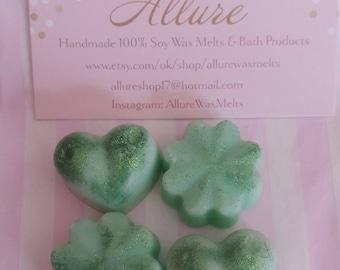 100% Soy Wax Melts- Green Tea and Lemongrass