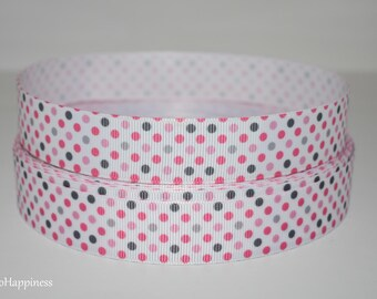 "Polka Dots 7/8"" Grosgrain Ribbon 896"