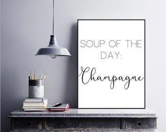 Landscape**Soup of the Day: Champagne