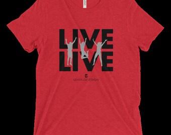 Men's Live Live Triblend Tee #3414