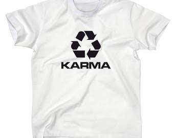 Karma recycling symbol T-Shirt