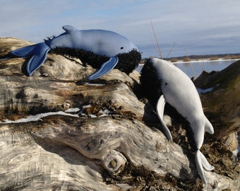 """Soft toy """"Blue Whale"""", home decoration, marine animal, free shipping"""