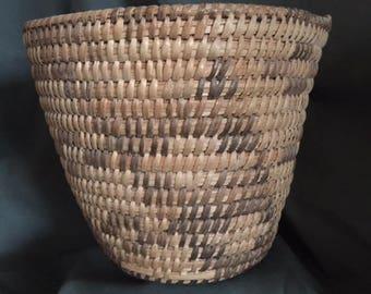 Collectible Native American Basket, Vintage Southwestern Indian Basket, Antique Indian Basket, Western Indian Basket, Old Indian Basket
