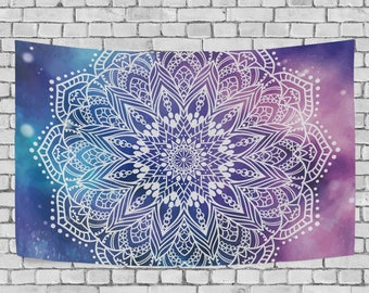 mandala tapestry etsy. Black Bedroom Furniture Sets. Home Design Ideas