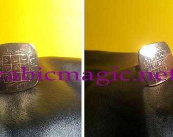 Magical ring for protection and neutralization of negative energies