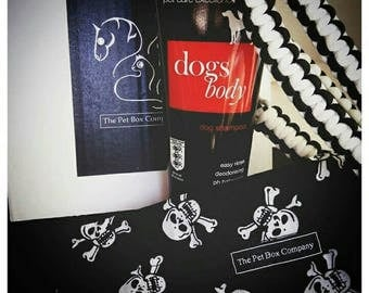 skull and crossbones gift box