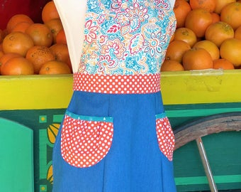 Sweetie Pie Apron, Women's full apron - Laneymade