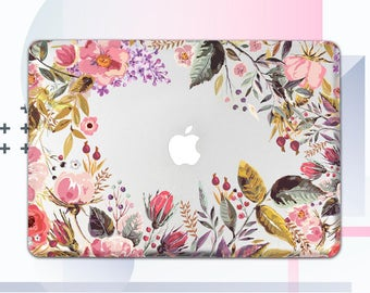 Floral Case Macbook Pro 15 Case Macbook Air 13 Macbook Case Macbook Pro Laptop Case 12 Macbook Cover Macbook Case Macbook Air 11 Case mCM02