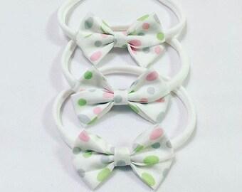 Easter bow headband