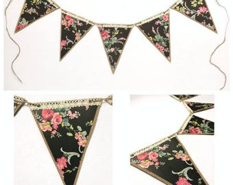 Country Chic Pennant Custom Banner
