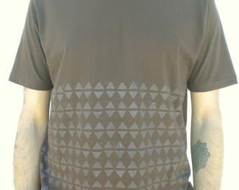 100% Organic cotton printed Tshirt men