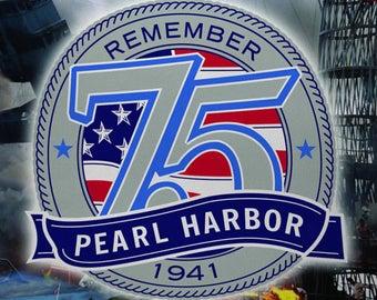 Remember Pearl Harbor Cross Stitch Pattern***L@@K***
