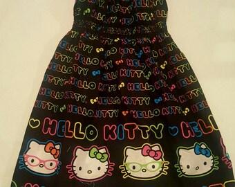 Hello Kitty Toddler Dress 2T-4T