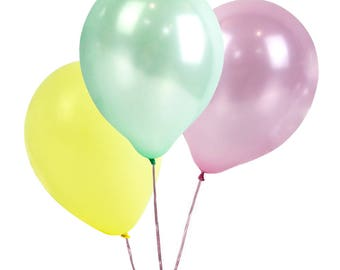 We Heart Pastel Balloons