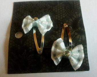 baby bow hair clips