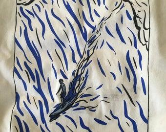Raymond Pettibon limited edition surfer tote bag MOCA