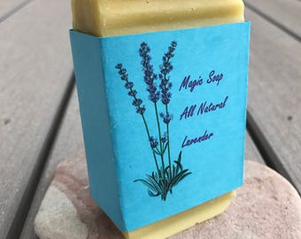 Natural Lavender Soap Bar For Softer Smoother Skin