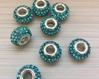5 pcs beads European / European beads