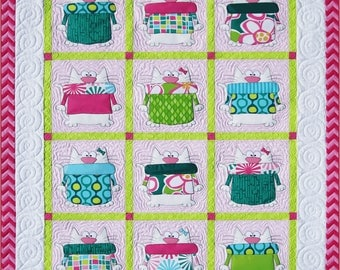 Dogs & Cats Quilt Pattern