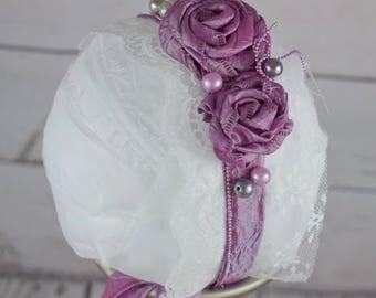 Purple Love Headband