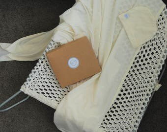 100% Australian Merino Wool Wrap and Hat Gift Set