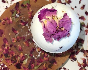 Love Potion Rose Passion Soothing 5 oz Bath Bomb