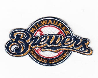 Milwaukee Brewers Patch Milwaukee Brewers Iron On Milwaukee Brewers Birthday Milwaukee Brewers Gift NOT  Brewers embroidery design