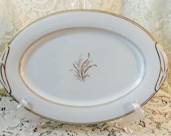 "Vintage Noritake Neville 5811 12"" Platter"