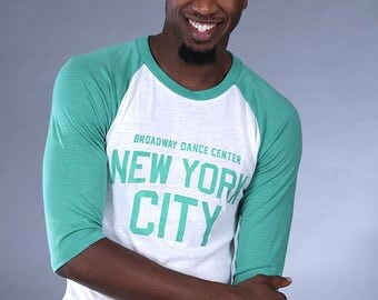New York City Baseball Tee (Green)