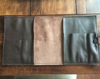 Handmade leather Tobacco pouch 2.0
