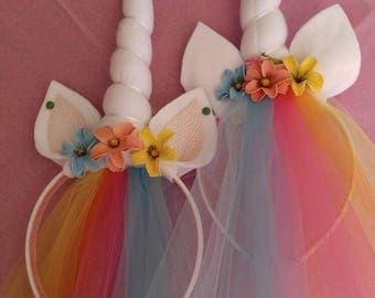 LuLaRoe inspired unicorn headband.