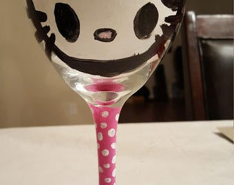 SALE** 50% off! Hello Kitty Wine Glass