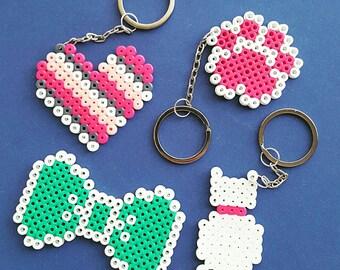 Hama Beads Keychain various models