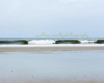Amelia Island Beach waves