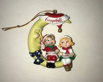1990's Campbell Kids Ornament