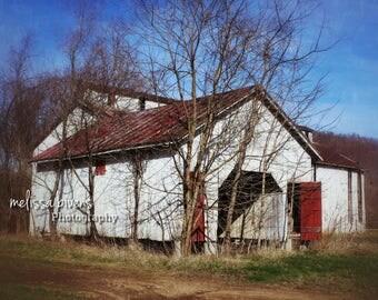 Barn, Abandoned Barn, Ohio, Rural Photography