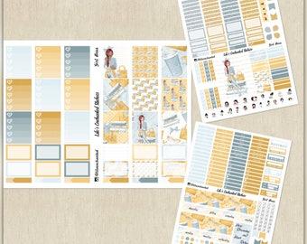Girl Boss / Planner Girl // Weekly Sticker Kit for Erin Condren // Printable / Cricut / Instant Download